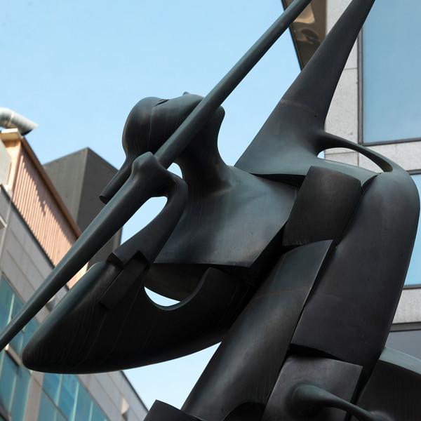 Close-up of a sculpture, Seoul, South Korea