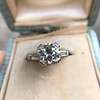 2.73ct Old European Cut Diamond Diamond Ring, AGS M VS2 5