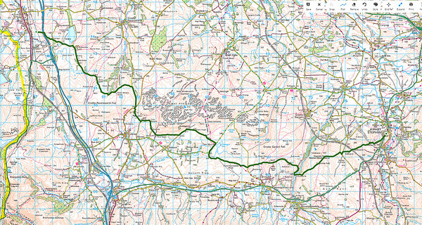 Day 6  Shap to Kirkby Stephen, Wednesday 16 sept 2015