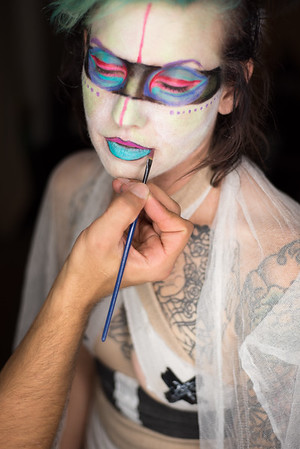 Body Paint Tests
