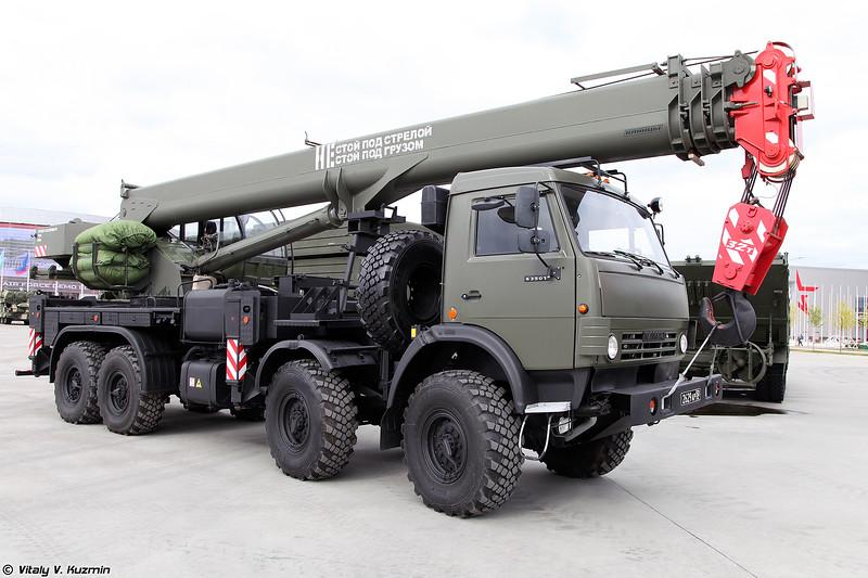 Кран автомобильный КС-55729-7M (KS-55729-7M crane)