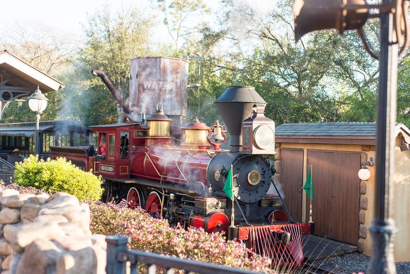 Train - Magic Kingdom Walt Disney World