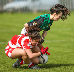 Women's Gaelic Football. Peterson Park, Glasgow. April 2018