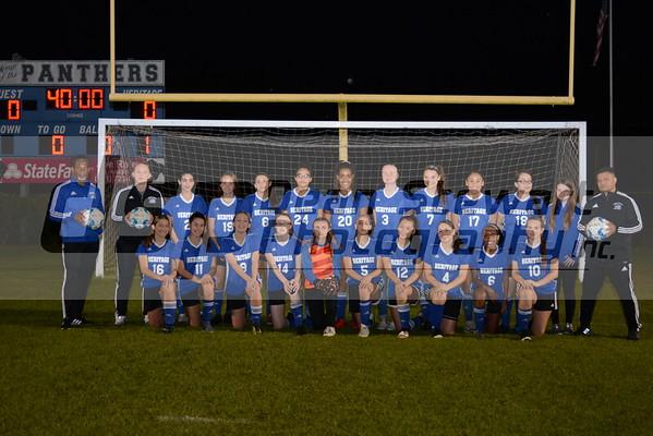 Heritage V Girls Soccer 1.14.20