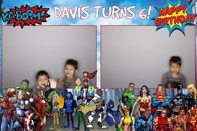 Davis' 6th Birthday!
