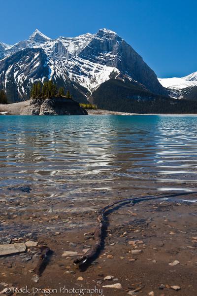 Upper Kananaskis Lake in Peter Lougheed Provincial Park.