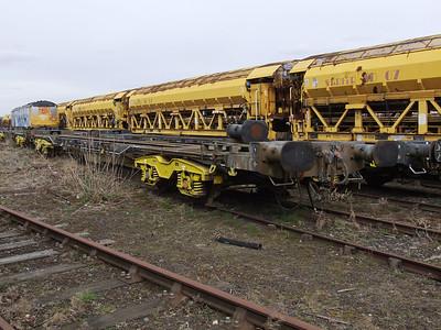 KFA (NLU) - Bogie Container Flat Wagon