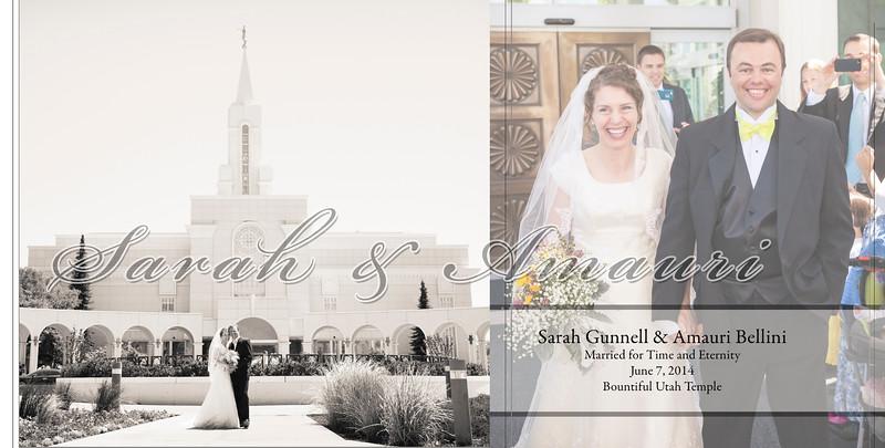 Gunnell-Bellini Wedding Album