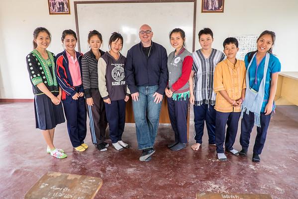 Stu And The Kids  Thai visit
