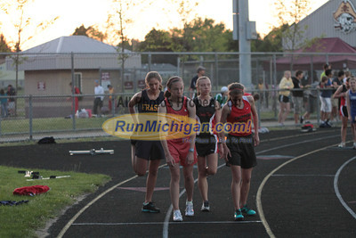 3200M Girls - 2012 MHSAA LP Track & Field Regional 8-1 Warren-Mott