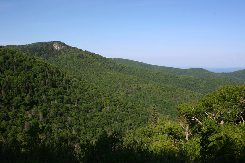 Devil's Courthouse NC-215 View