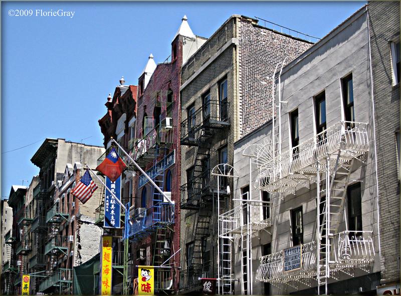 Mott Street Morning  ©2009 FlorieGray