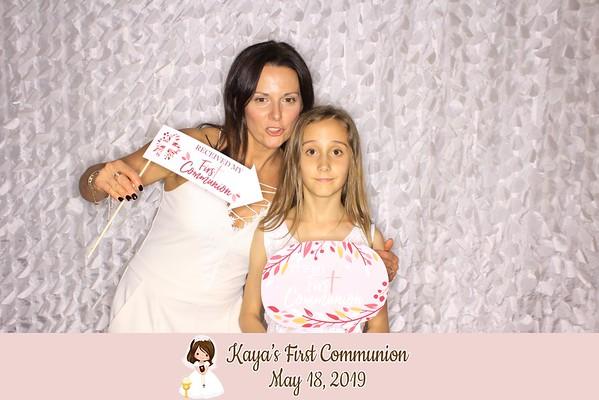 Kaya's First Communion