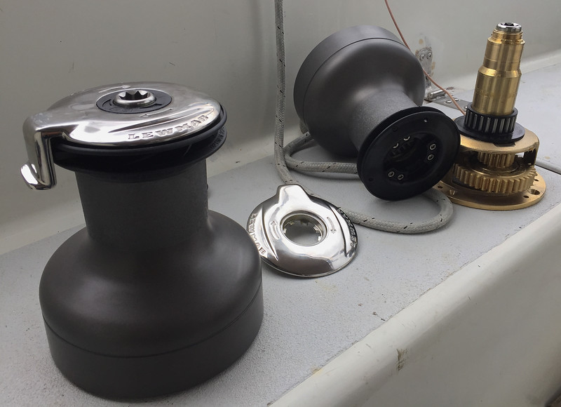 New Sheet Winches