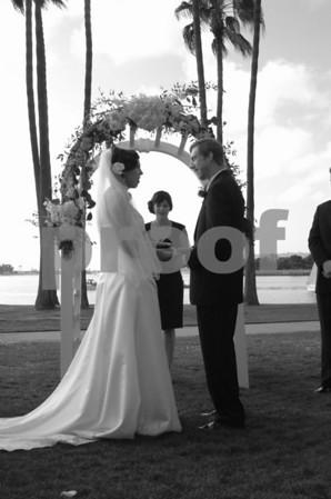 Lisa + Aaron's wedding April 25 2009