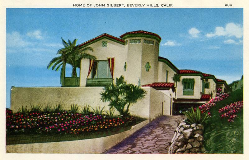 Home of John Gilbert