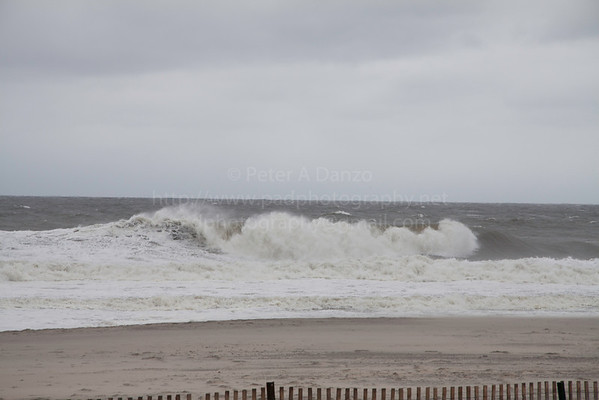Belmar the day before, 10-28-12