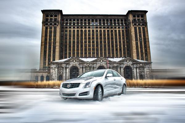 2014 Cadillac ats michigan central station