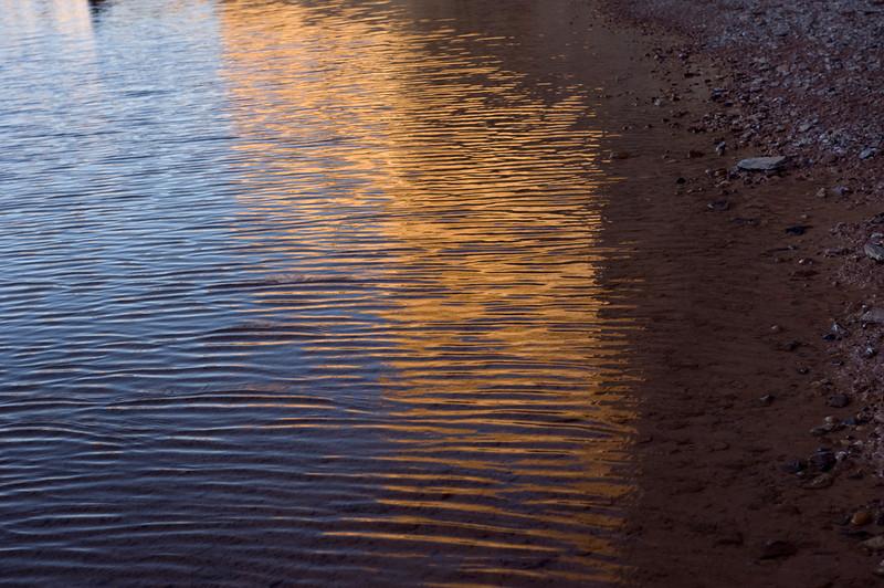 """Creekside  """"Canyon Gold""""   Terlingua Creek Terlingua, TX  Nov 2009"""