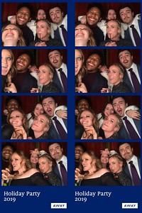 Away Holiday Party 2019 Photo Strips