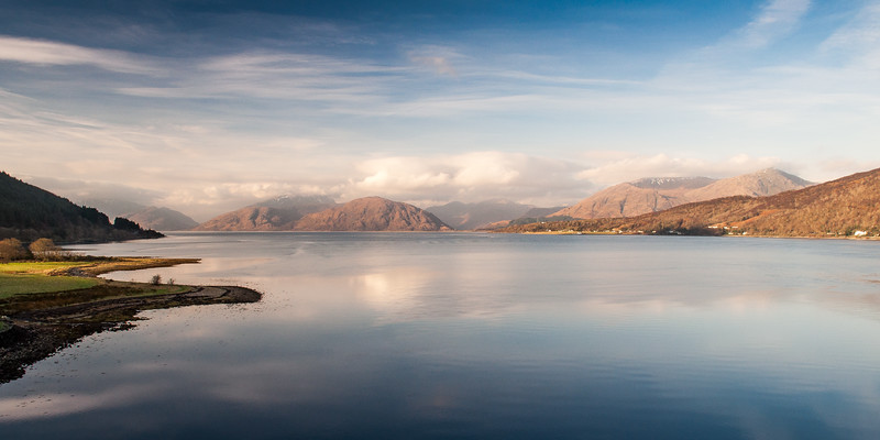 Loch Linnhe and the Ardnamurchan mountains