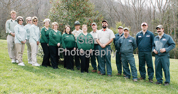 Roan Mountain State Park Staff
