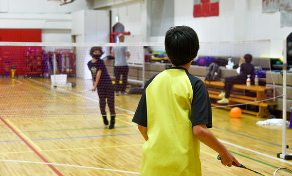 MS Badminton Practice