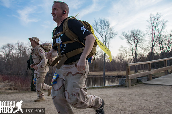 2018 Tough Ruck Volunteer Mike Incandenza
