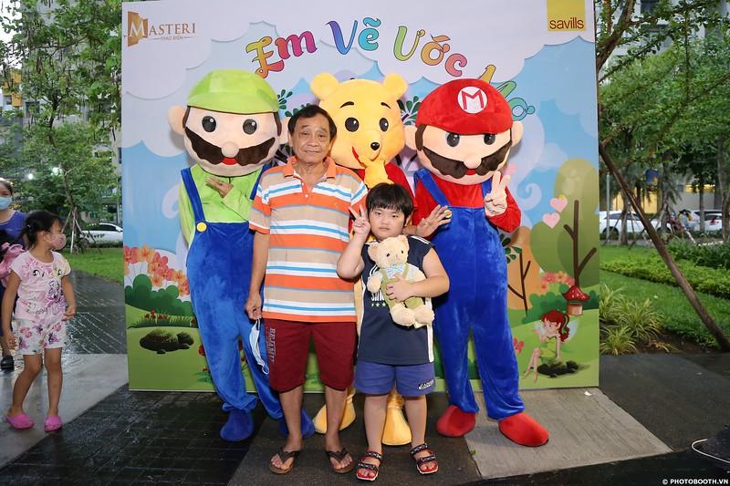 """Masteri Thao Dien   """"Em Vẽ Ước Mơ"""" Children's Day 2020 instant print photo booth   Chụp hình lấy liền Quốc tế Thiếu nhi 2020"""