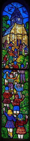 Bonneville-sur-Iton - Children Going to Church (Decorchemont)