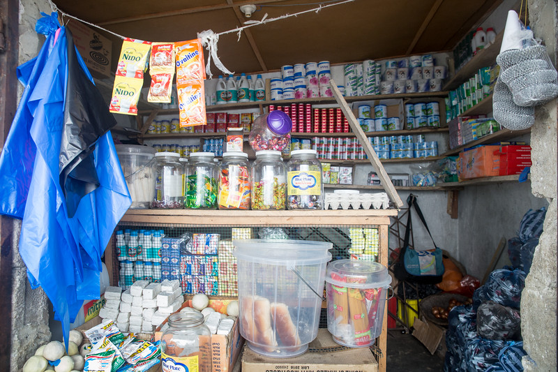 Monrovia, Liberia October 6, 2017 - Jacqueline Clinton,  a student in the REVSLA program who owns her own general store.