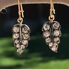1.85ctw Victorian Leaf Component Earrings 2