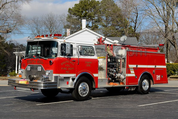 SOUTH HILL VIRGINIA FIRE APPARATUS