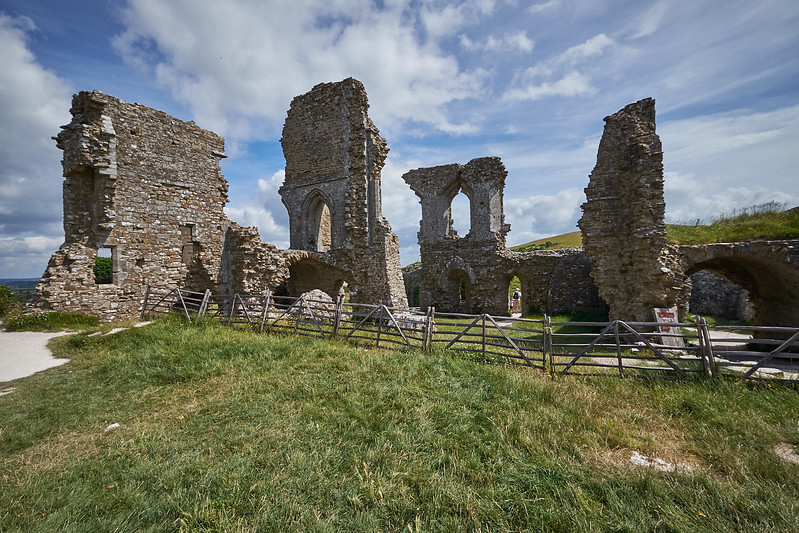 Corfe Castle, England, July 2016