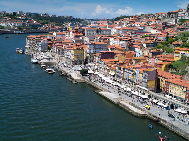 Douro River from Dom Luís Bridge