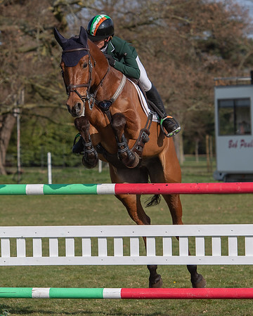 2019-03-31 Belton Horse Trials Sunday Morning Show Jumping