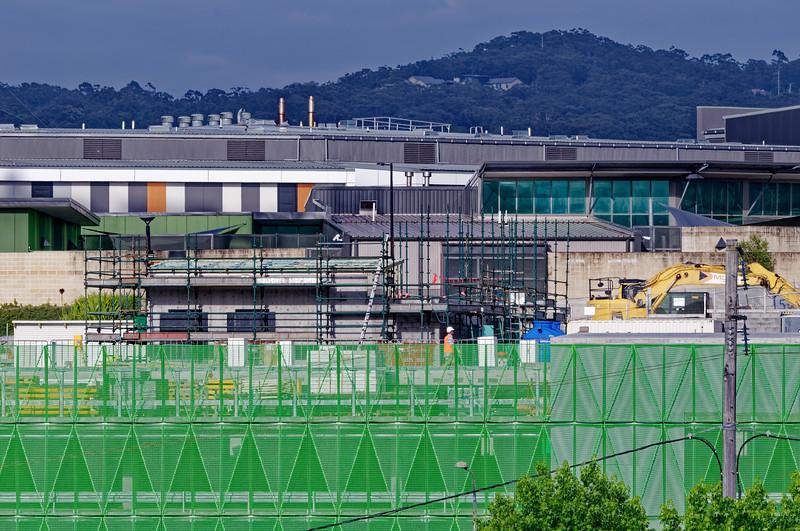 Gosford Hospital building progress November 27, 2018.  (h71ed)