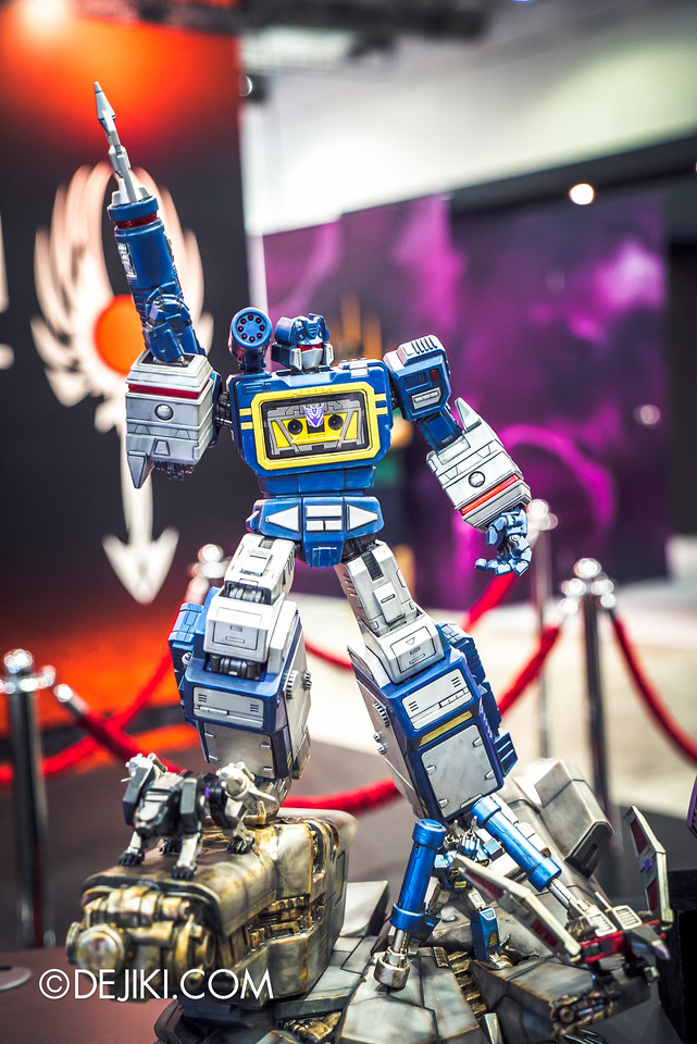 STGCC 2016 - Imaginarium Art / Transformers Soundwave