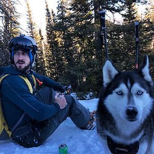 2019 - Ski Road Trip. Lots of pow, some bumps along the way