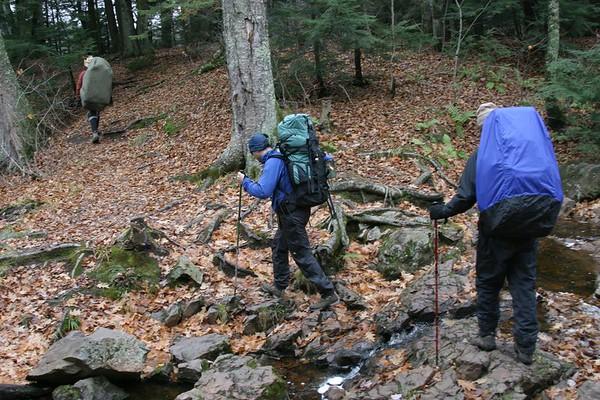 Porcupine Mts Backpacking Nov '05