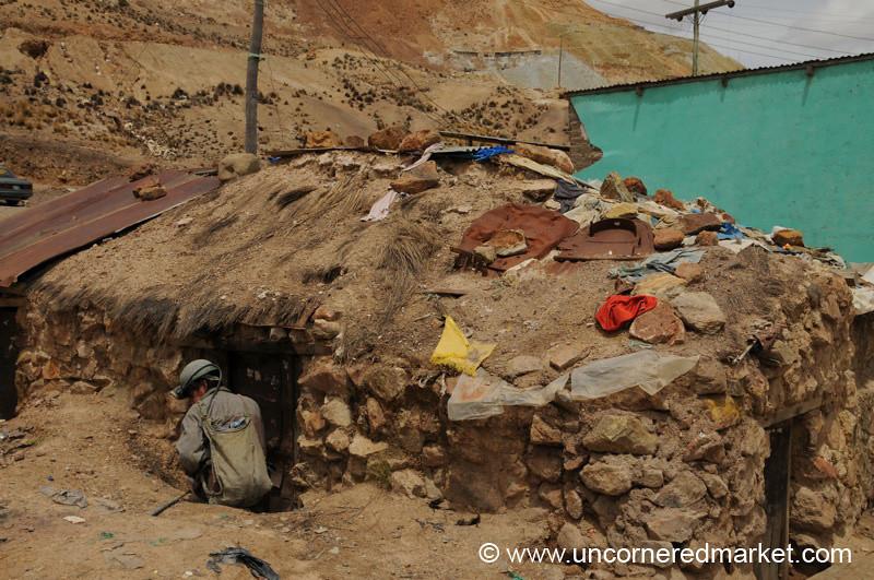 Entry to a Mine - Potosi, Bolivia