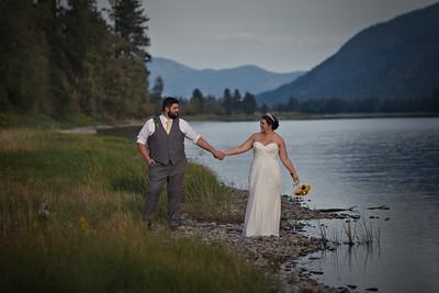Dale and makayla Wedding