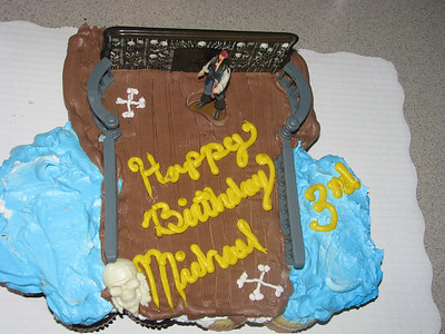 Michael's 3rd birthday
