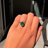 3.08ct Vintage Emerald Solitaire, by Tiffany & Co 9