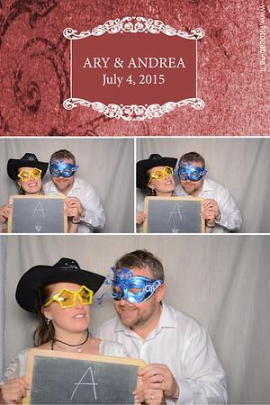 Matrimonio Ary e Andrea - Photobooth con Fotocabina.it - 04.07.2015