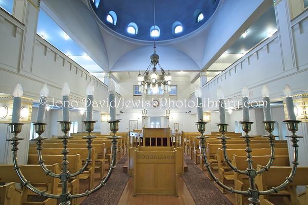 FINLAND, Turku. Turku Synagogue. (8.2011)