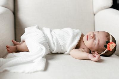 Cora's Newborn Session