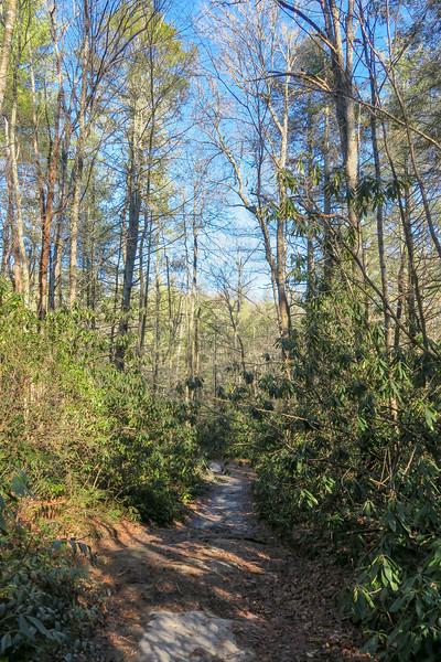 Corn Mill Shoals Trail -- 2,670'