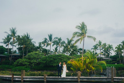 Sarah and Nate // Kukio Beach Wedding