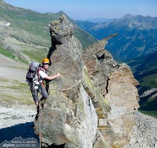 Grundschartner Nordkante, Zillertal